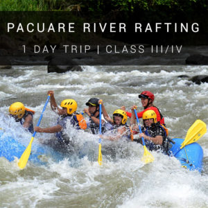 Costa Rica One Day Rafting Trip